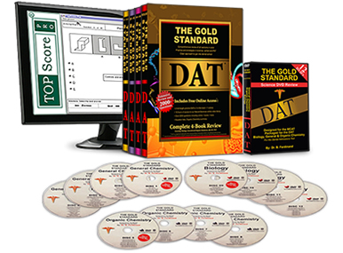 Complete DAT Home Study Course with 5 Full-length Practice Tests (Books, DVDs and Software for the Dental Admission Test)